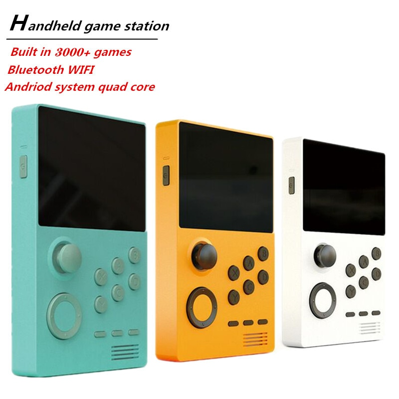Handheld game Player Android SYSTEM 3.5 Inch IPS screen Pandora's Box built-in 3000+games  WiFi download handheld game console