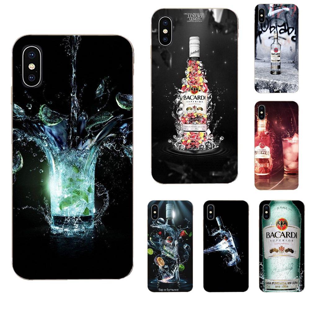 Projeto Bacardi Bat Para Xiaomi Redmi 3 3S 4 4A 4X 5 6 6A 7 K20 Nota 2 3 4 5 5A 6 7 Pro Plus Skin Thin Pc Caso Celular