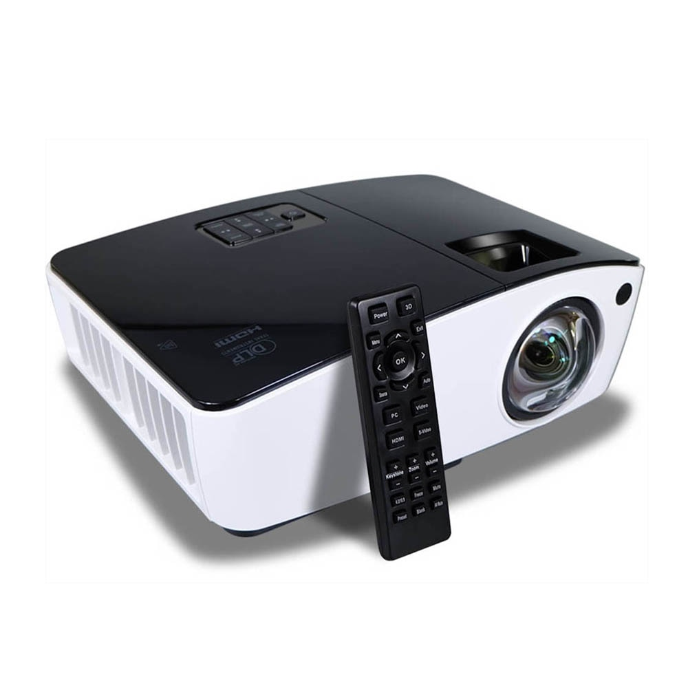 XGA-جهاز عرض صغير ثلاثي الأبعاد عالي الدقة ، 1080 بكسل ، 3 شاشات lcd ، ثلاثي الأبعاد ، ثلاثي الأبعاد