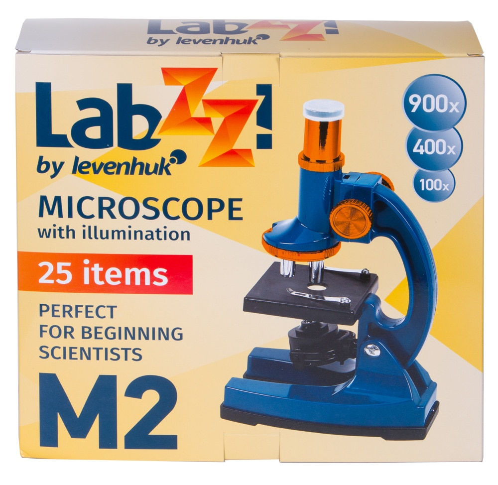 Microscopio Levenhuk LabZZ M2