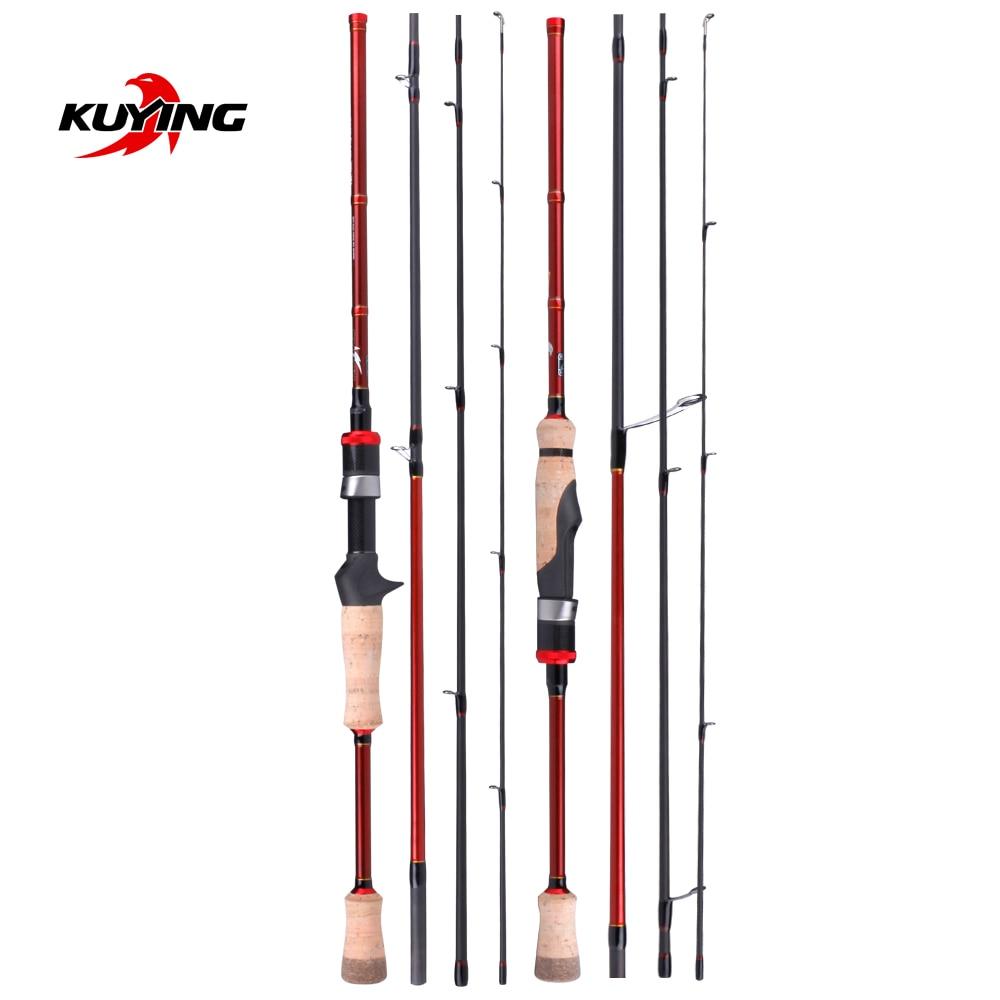KUYING Freestyle Walker Spinning Baitcasting 2.1m 7'0