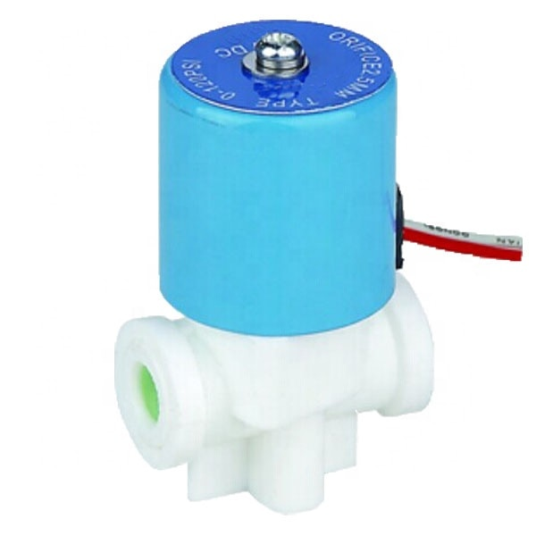Darhor PP material de calidad alimentaria dispensador de agua potable válvula de solenoide válvula de agua