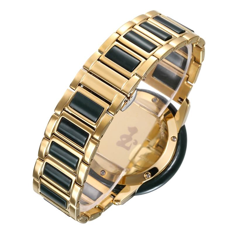 GEZFEEL Ms. Jade Watch Women's Quartz Watch Factory Outlet Waterproof Watches Female Gift With Appraisal Certificate Reloj Mujer enlarge