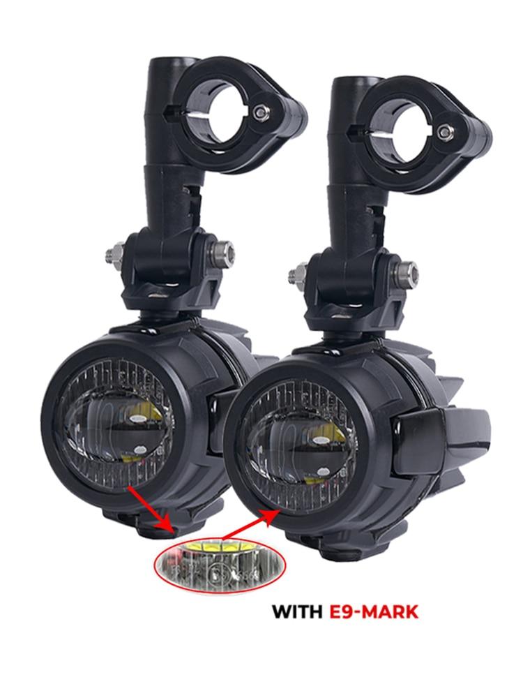 FADUIES-مصباح ضباب إضافي LED للدراجات النارية ، لسيارات BMW R1200GS و ADV و K1600 و R1200GS و R1100GS