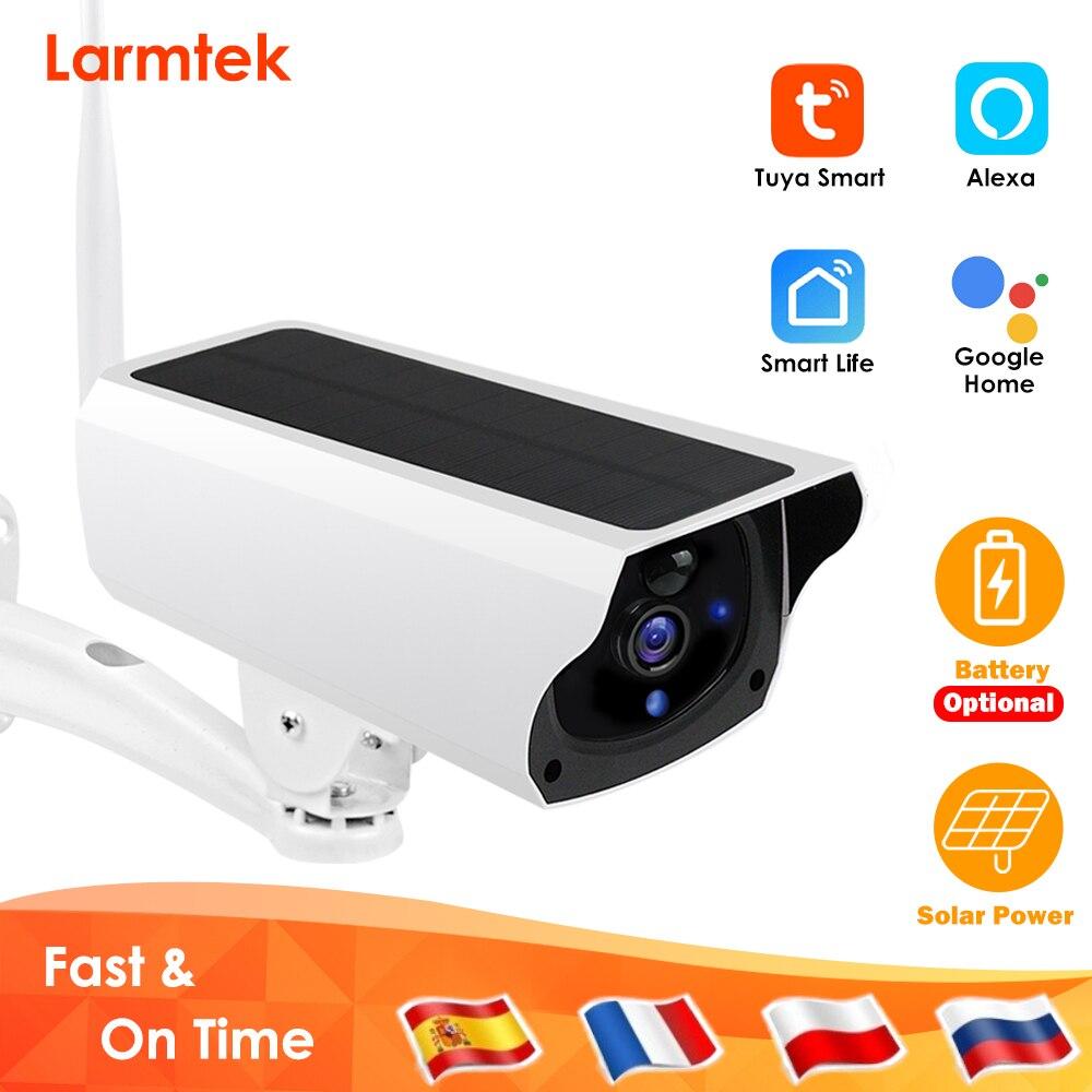 Tuya Solar IP Camera Outdoor WiFi 1080P HD Home Security CCTV Camera Battery Wireless Power PIR Surveillance Google Home Alexa
