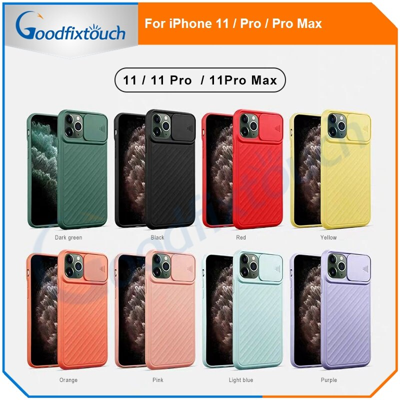 20pcs-phone-case-for-iphone-11-11-pro-11-pro-max-silicone-simple-matte-bumper-candy-color-shockproof-soft-tpu-case-cover