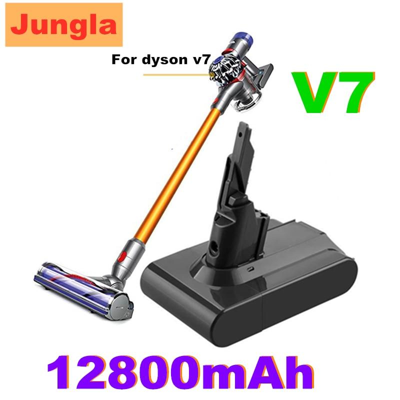 Original 21,6 V 12800mAh Li-ion V7 12,8ah baterías para Dyson V7 Absolute...