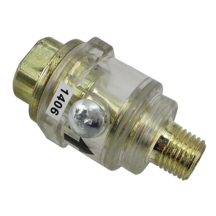 1/4 мини-масленка/масленка-прозрачной оболочкой автоматический мини встроенный пневматический инструмент масленка для пневматический инс... масленка samoa 175150
