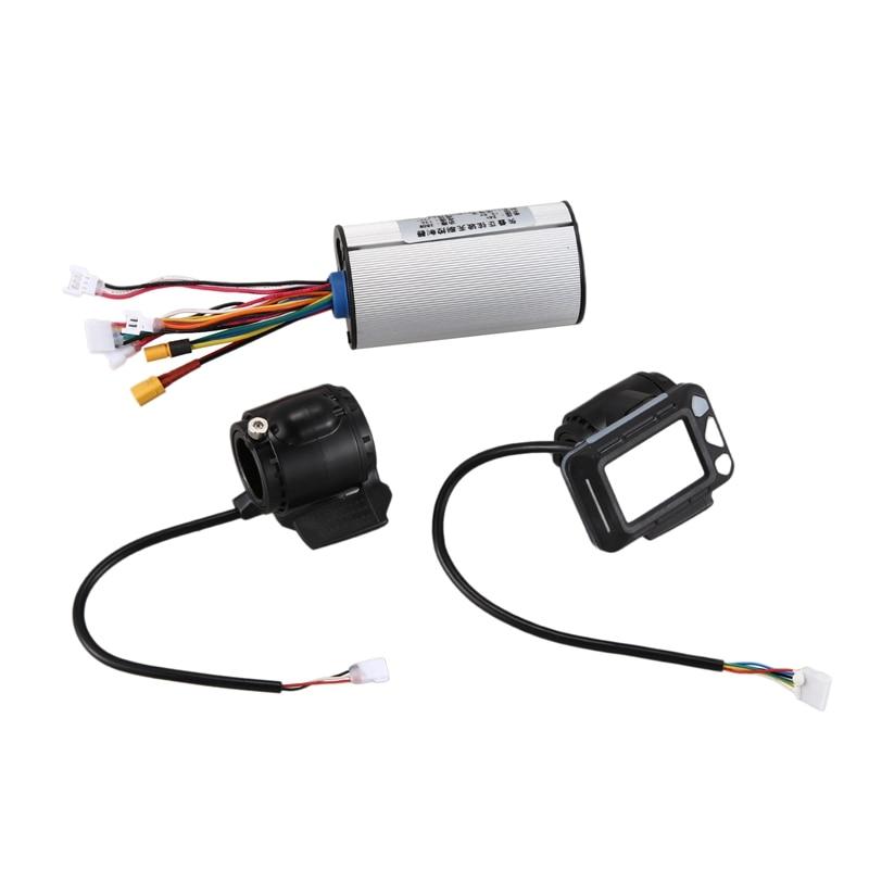 Controlador de pantalla LCD de freno 24V 250W, controlador de Scooter eléctrico, Motor sin escobillas, conjunto de accesorios de bicicleta eléctrica