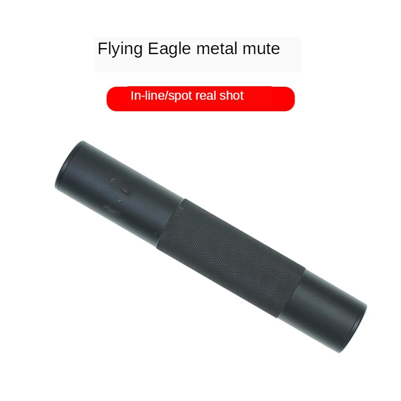 Front Pipe Silencing Sleeve Flying Eagle Muffler Accessory 14 Refit Silencing Muffler Accessory Upgrade Material Tactical недорого