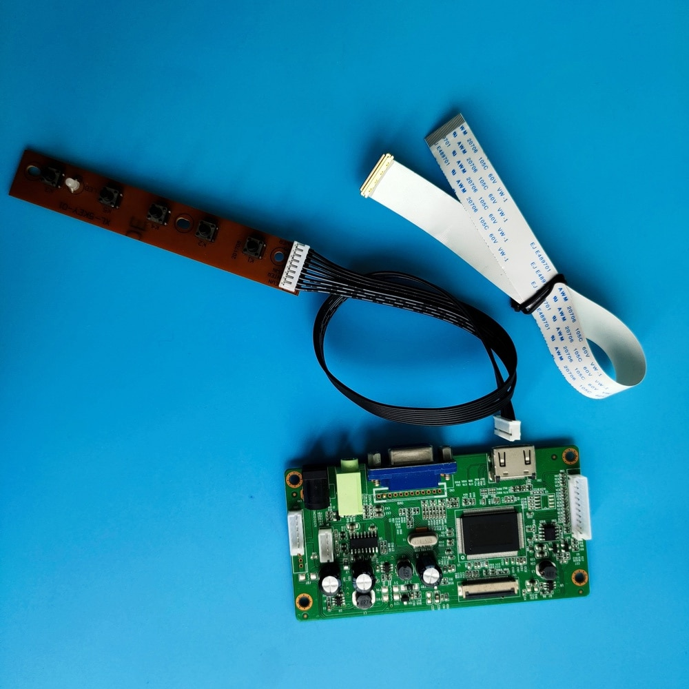 كيت ل LP156WH4-TPA1/P1/P2 لوحة 30pin تحكم مجلس عرض رصد DIY VGA LCD EDP 1366X768 سائق شاشة 15.6