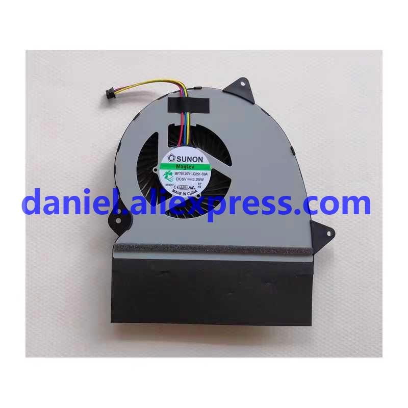 Para SUNON MAGLEV MF75120V1-C251-S9A DC 5V 2,25 W ventilador de la CPU