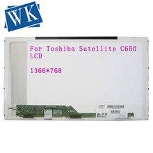 Pour Toshiba Satellite C650 C650D L650 L650D écran lcd dordinateur portable LED Remplacement Daffichage 15.6