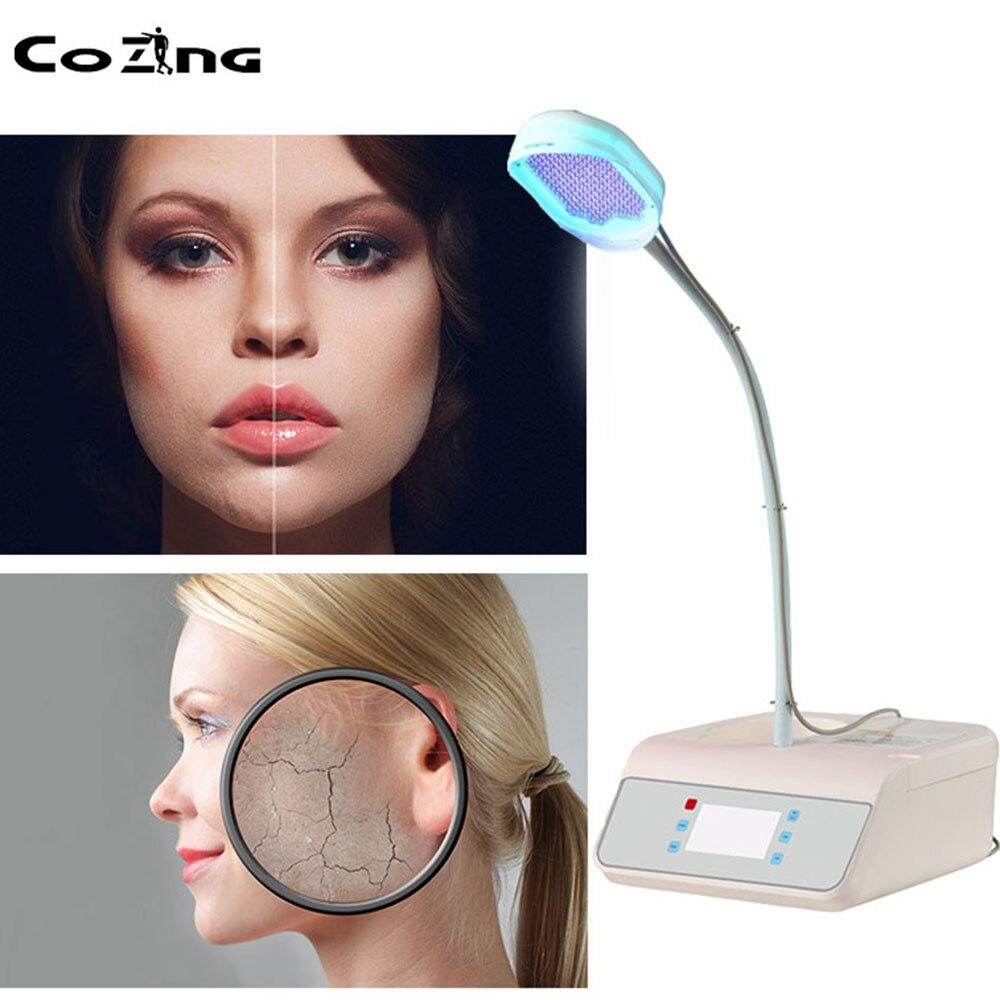 2020 plus récent 105W bas niveau laser thérapie LLLT lumière bleue thermique acné Laser traitement visage peau blanchiment livraison gratuite