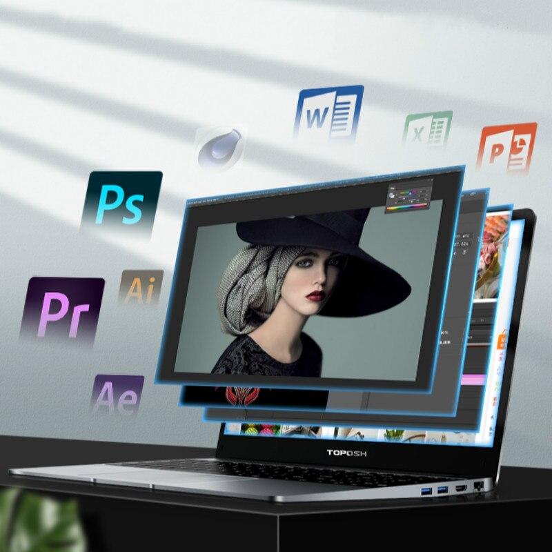 15.6'' i7-8550U 16G RAM Laptop Windows 10 Pro 8th Generation i7 CPU 2G GeForce MX150 Gaming Notebook Business Portable Netbook
