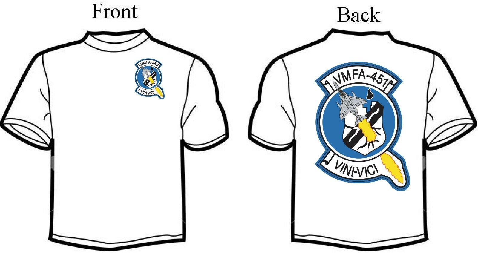 Vmfa 451 caudillos F 4 escuadrón fantasma T camisa