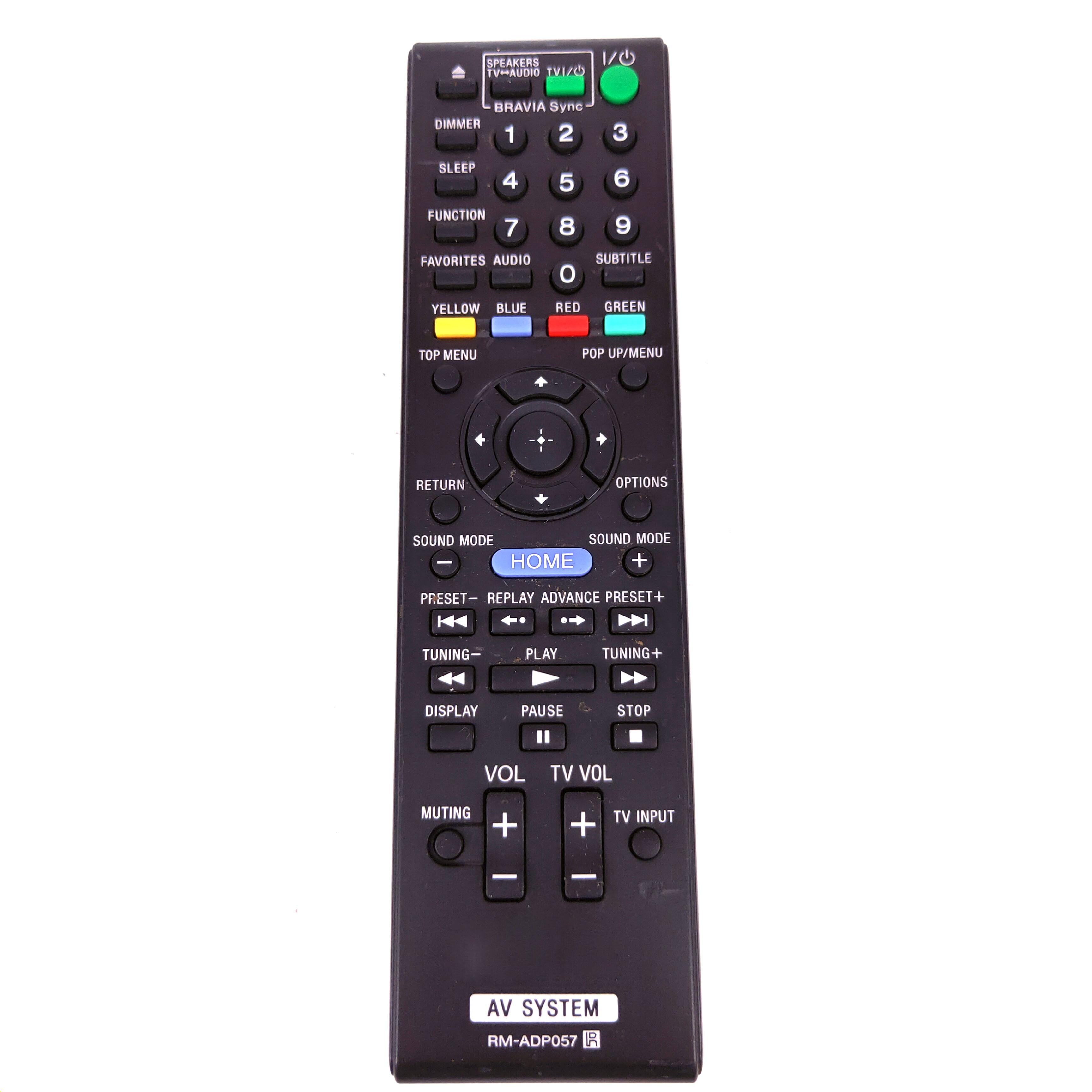 Control remoto para receptor de Audio y vídeo SONY, RM-ADP057 Original usado...