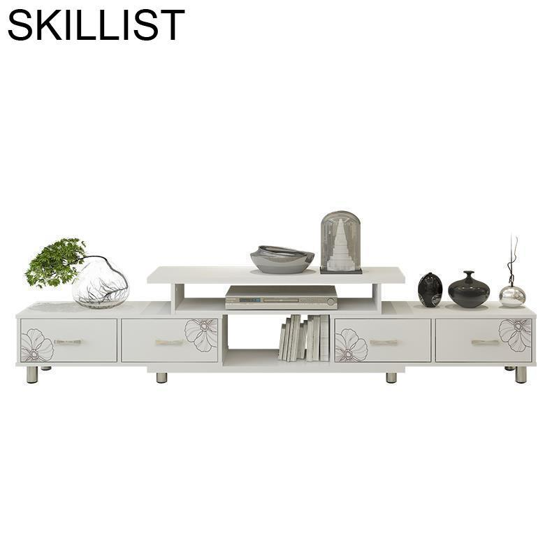 Soporte mecánico Ecran Ordinateur Bureau Kast, moderno Sehpasi Lemari Para mesa de salón de madera, Mueble Para habitación, Mueble Para TV Meuble