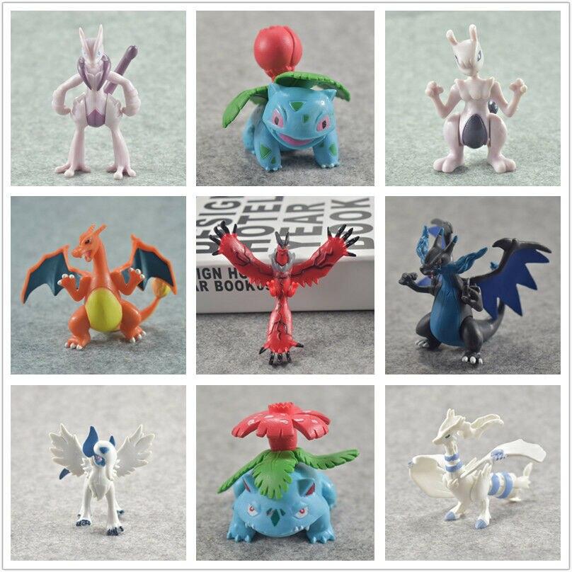 Mega Evolution X /Y Charizard Venusaur Ivysaur Lugia Absol  Figure Toy Action Figure Toy 8cm GIft