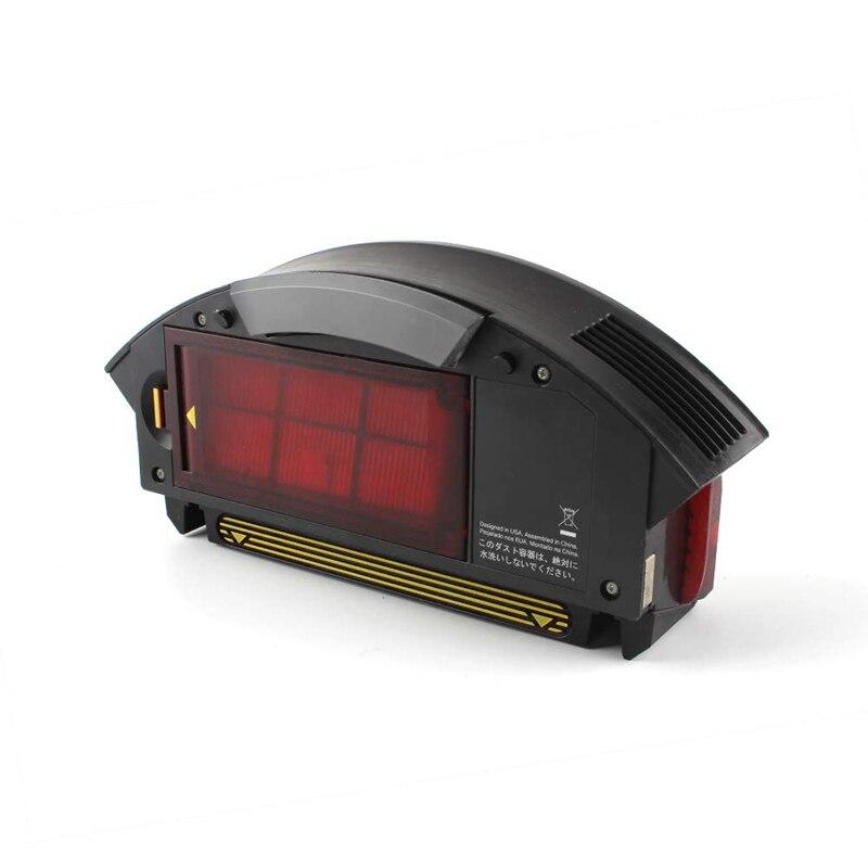 Filtre dépoussiérage boîte filtre boîte collecteur pour Irobot Roomba 800 série 870 880 960