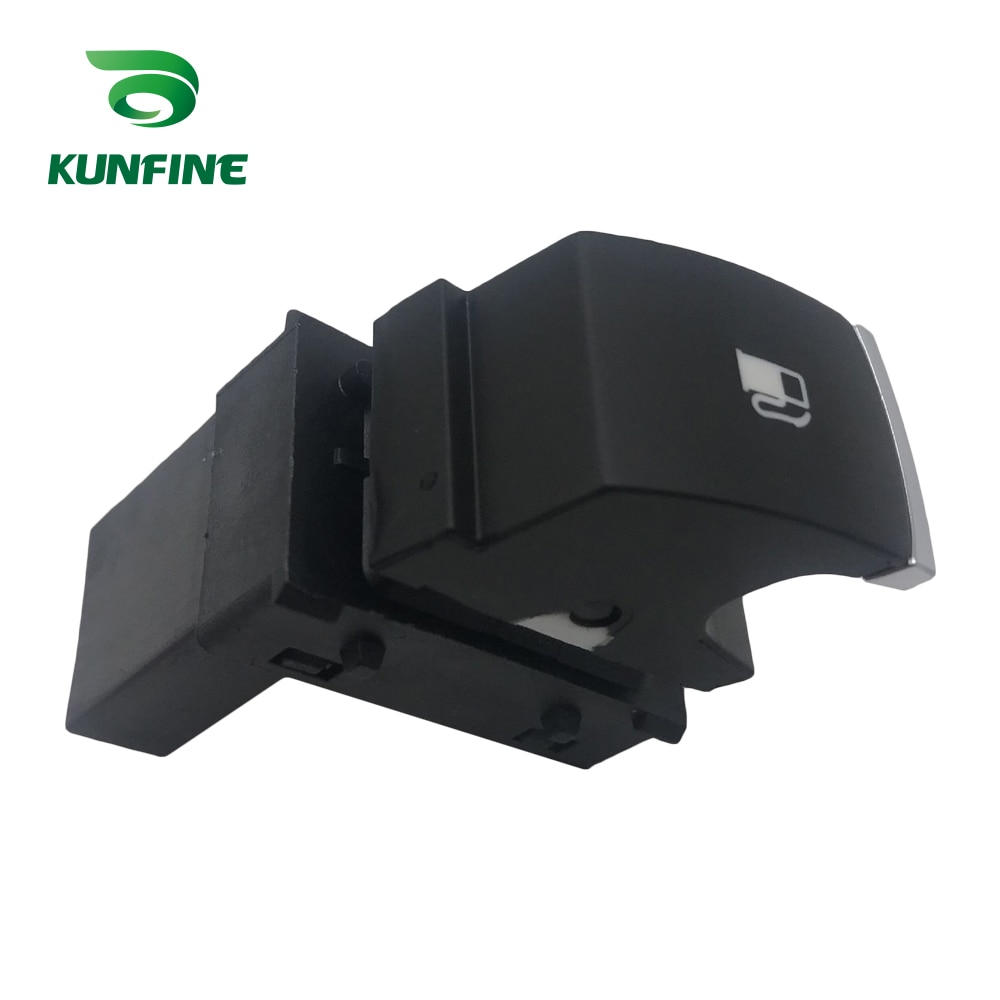 KUNFINE tapa de tanque de combustible puerta botón interruptor para VW Passat B6 para VW Golf Jetta MK5 conejo Touran 1KD 959 833 1KD959833