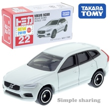 Takara tomy tomica n° 22 volvo xc60 juguete del coche deportivo escala 1: 64 diecast roadster molde divertido niños muñeca pop marioneta
