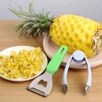 pineapple knife peeler stainless steel peeling pineapple artifact 304 gouging clip seed peeling knife tool clip household