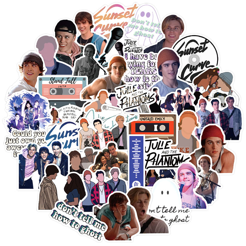 10/30/50pcs/pack Classic TV Show Julie and the Phantoms Stickers For Motorcycle Car DIY Children's T