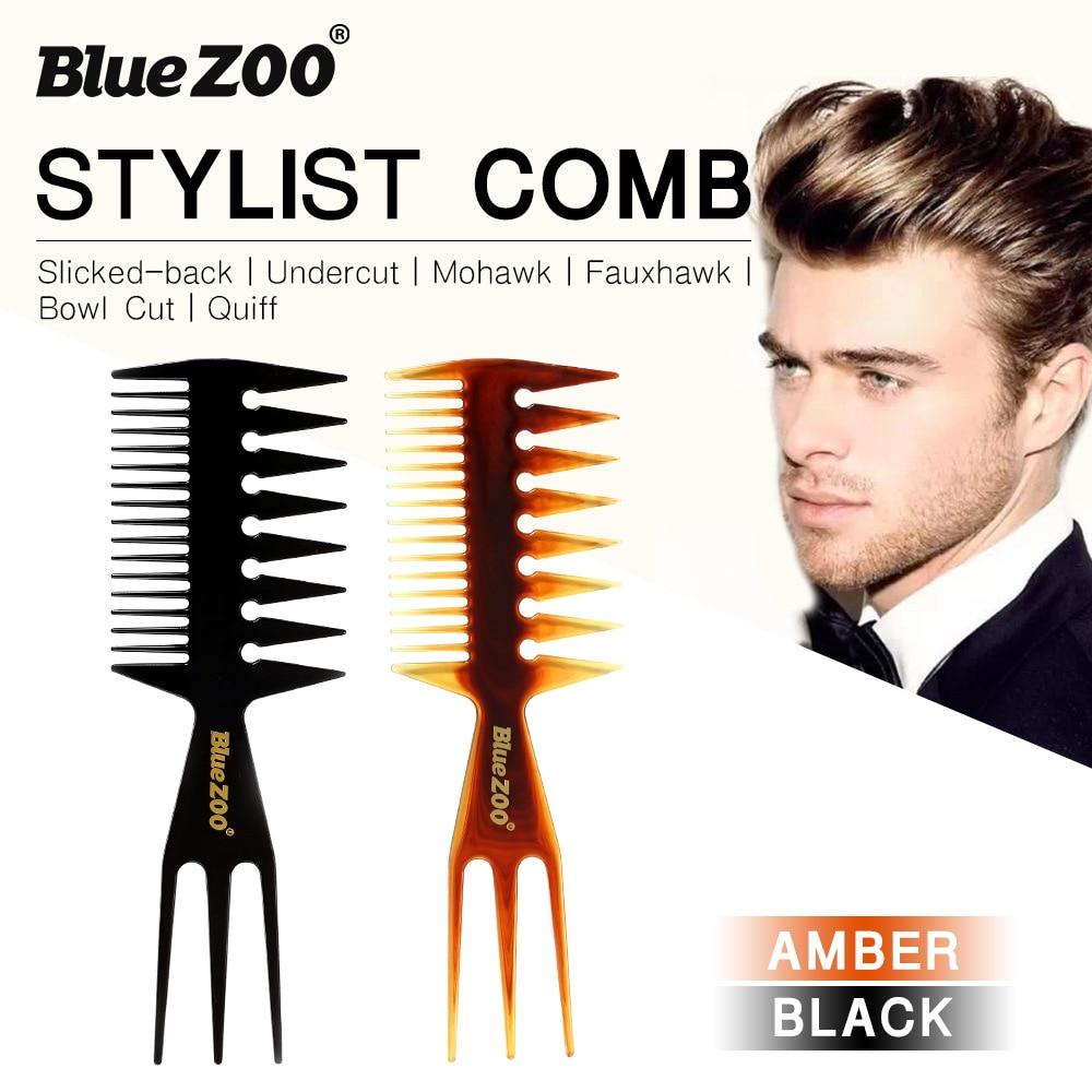 Peine Profesional de peluquería para hombre, peine de peluquería para salón de...