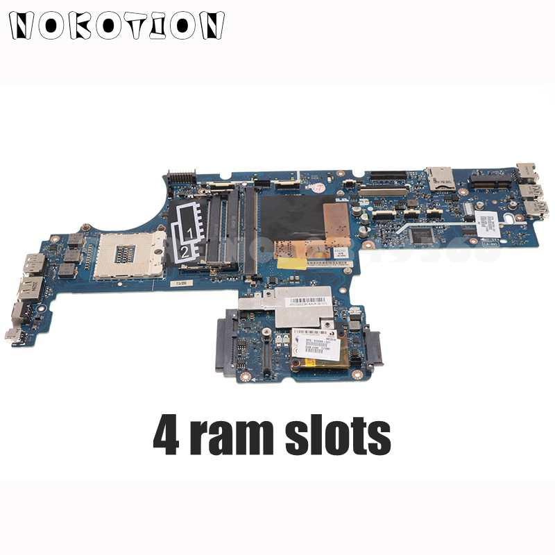 NOKOTION 595765-001 ل HP 8540P 8540 واط اللوحة المحمول KAQ00 LA-4951P اللوحة الرئيسية QM57 DDR3 i7 فقط