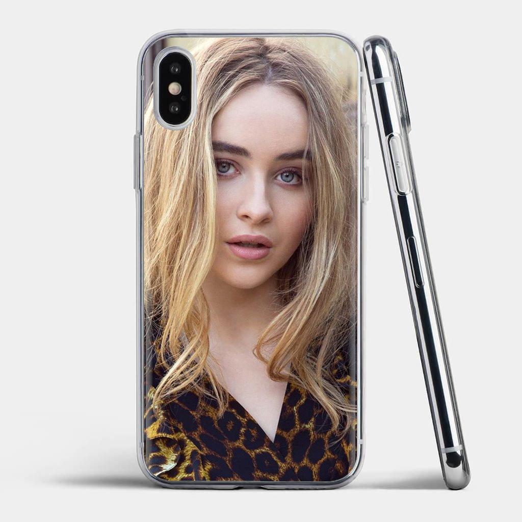 Chica bonita Sabrina Carpenter para Xiaomi mi A1 A2 A3 5X 6X 8 9 9t Lite SE Pro mi Max Mix tableta amortiguador Tech accesorio beige Rojo Negro compruebe Tartan tableta amortiguador 2S funda de silicona