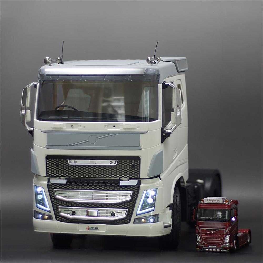 Neue Low Dach Körper Shell Kit für 1/14 TAMIYA Volvo F16 750 56360 RC Lkw Traktor Teile Zubehör