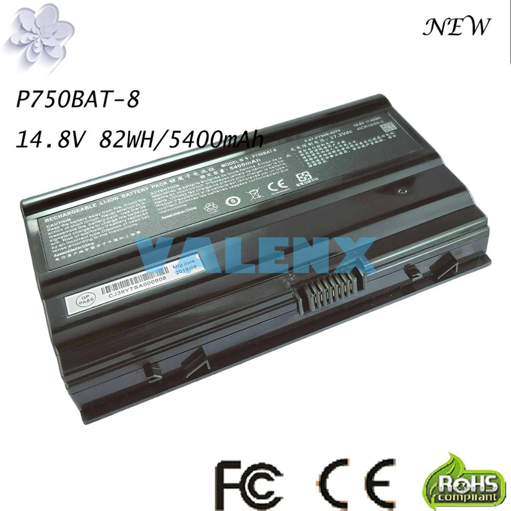 82Wh P750BAT-8 batería para Terrans Force X599 X799 X599 970M P750BAT-8 6-87-P750S-4271