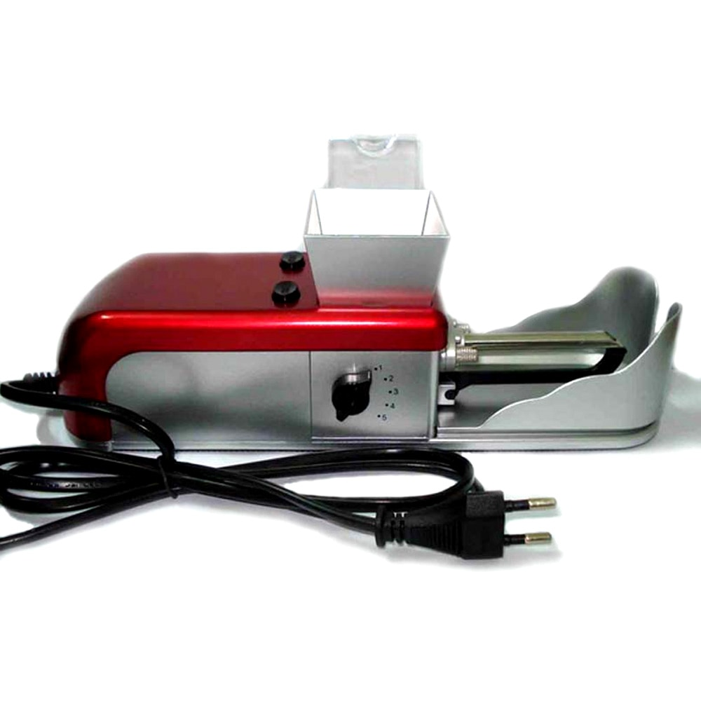 Máquina de llenado de tabaco rodillo 100-240V EU/US adaptador