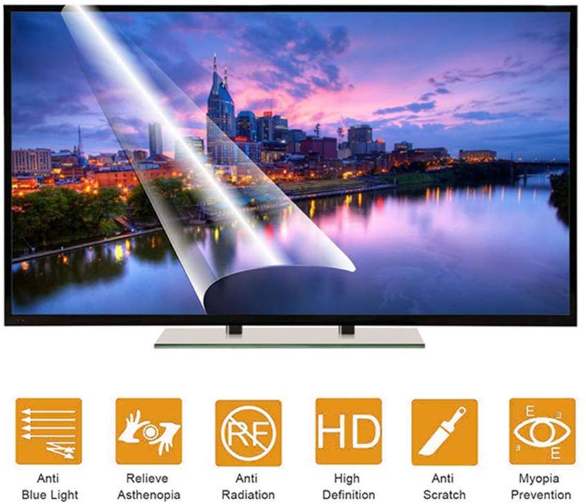 Para Sony Android 163,9 cm 65-pulgadas TV Protector de pantalla de luz azul, protección de ojos bloques de protección de luz azul
