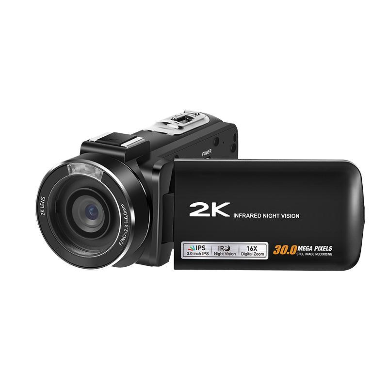 Cámara de vídeo 2K, videocámara FHD 1080P 30FPS 30MP 16X Zoom Digital...