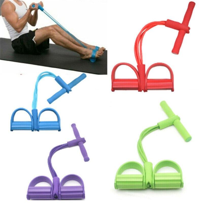 Yoga tira de la cuerda bandas elásticas de resistencia Fitness ejercicio tubo de ejercicio elevador cuerda extractor mujeres Goma de entrenamiento equipo de tracción