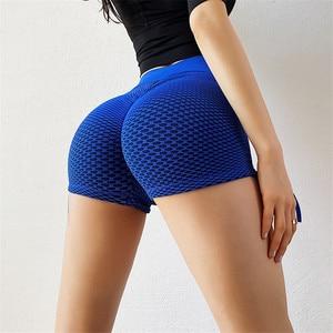Women Push Up Leggings Biker Short Workout Gym Long Shorts Women High Waist Plain Squat Proof Fitness Workout Athletic Shorts