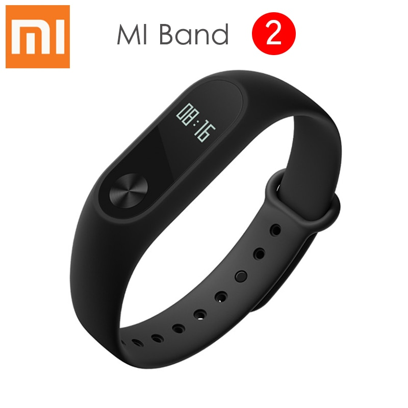 Оригинальный Xiaomi Mi Band 2 Смарт-браслет OLED сенсорный экран IP67 Водонепроницаемый Bluetooth 4,0 спортивный смарт-браслет монитор сердечного ритма