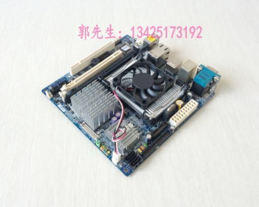 100% عالية الجودة اختبار AiMB-253L-00A1E إرسال وحدة المعالجة المركزية مروحة I945GM