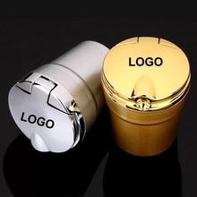 1PC For Infiniti Q50L / QX50 / Q70L / QX30 / QX80 / ESQ car ashtray with LED light