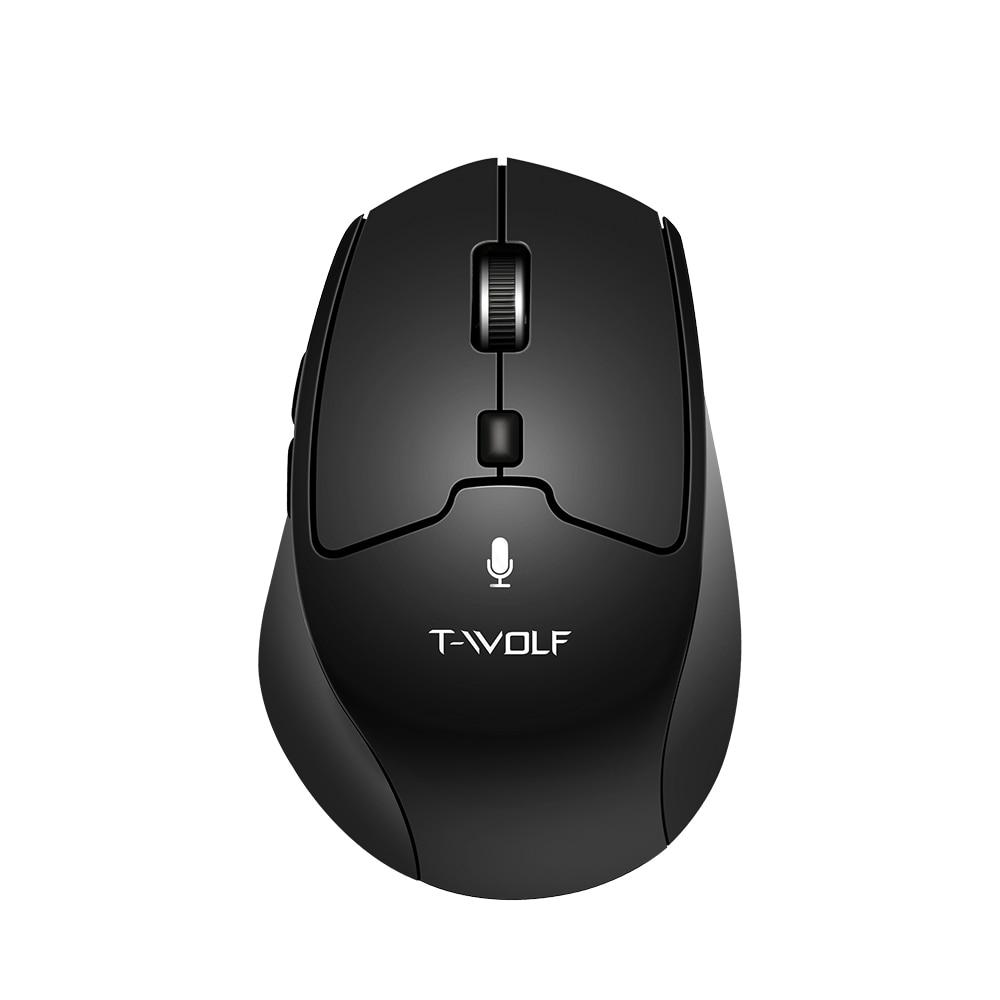 2.4G wireless AI mouse AI intelligent voice mouse smart voice mouse 6 button voice control and translation support 28 language