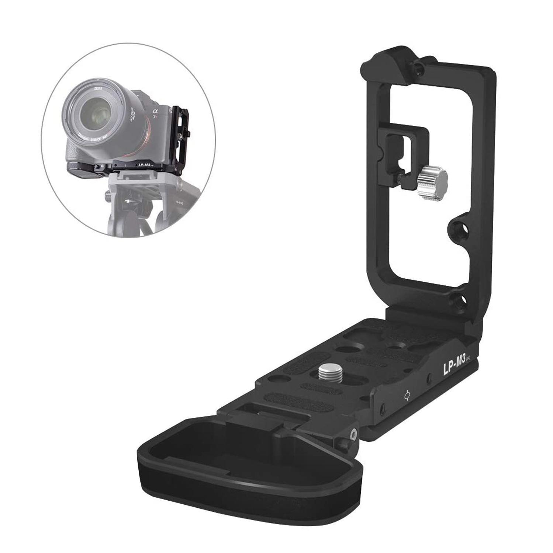 Selens A72 A7S2 A73 A9 L نوع هيكل قفصي الشكل للكاميرا تلاعب لسوني A7ii A7iii A7Sii A9 سبائك الألومنيوم قفص مجموعة الإفراج السريع LP-M3