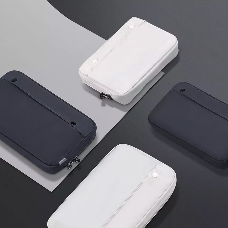 Youpin Digital Storage Bag Multi-Function Nylon Waterproof Anti-Drop Bag USB Wires Charger Earphone Portable Travel Organizer enlarge
