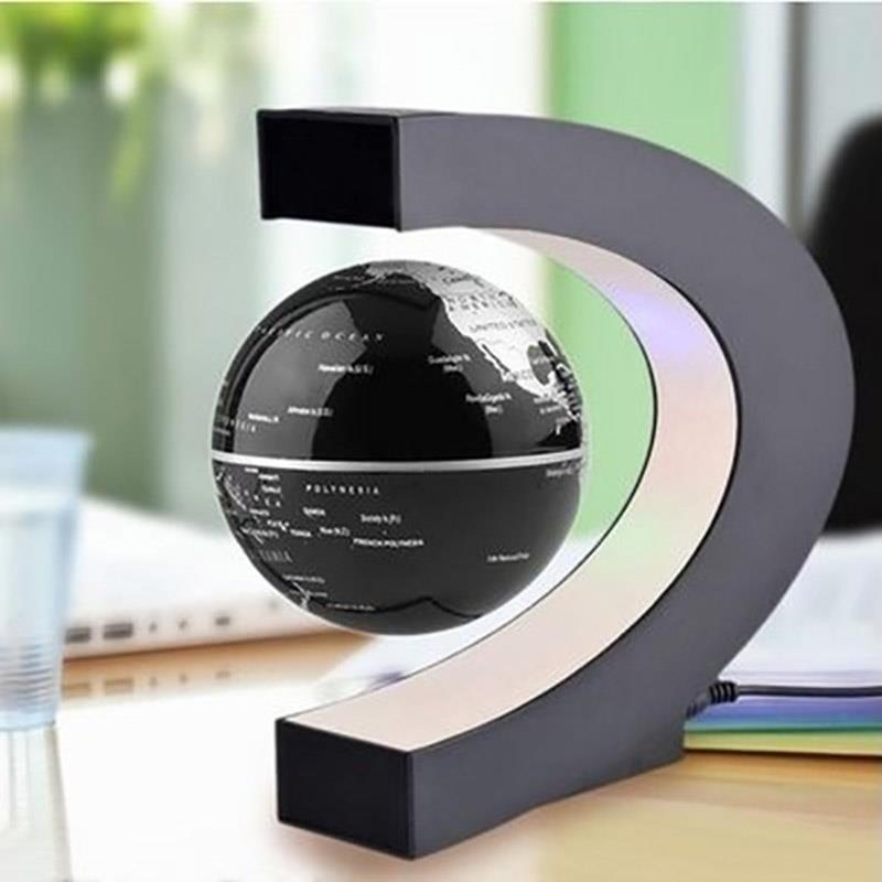 Floating Magnetic Levitation Globe LED World Map Electronic Antigravity Lamp Novelty Ball Light Home Decoration Birthday Gifts