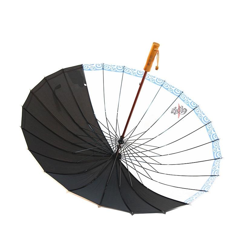 Creative Umbrella Katana Gintama Cosplay Prop Long Handle Umbrella Man Samurai Sword Japanese Umbrella Straight Big Umbrellas enlarge