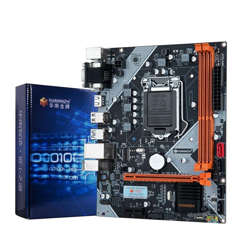 HUANANZHI B75 LGA1155 b75 motherboard desktop para i3 i5 i7 CPU suporte de memória ddr3