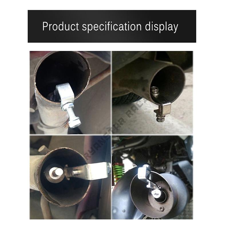 Universal profissional carro tuning traseiro turbina silenciadores cauda apito tubo de escape sounder apito sistemas de escape notícias