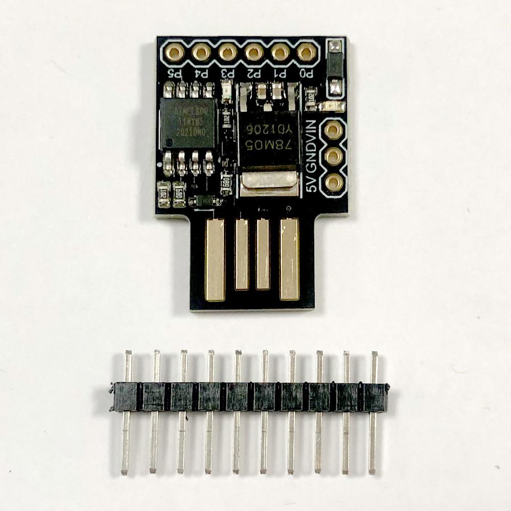 Arduino USB Blue Black TINY85 Digispark Kickstarter Micro Development Board ATTINY85 Module for Arduino IIC I2C USB