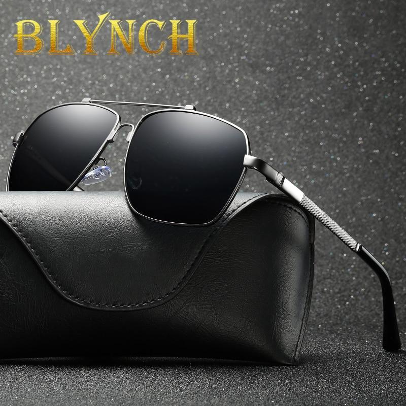 Blynch 2020 mannen vrouwen gepolariseerde aloy oval moldura zonnebril rijden tons de zonnebril